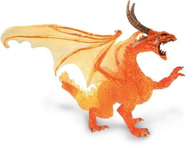 Giocattolo Dragons. Drago di fuoco Plastoy 1