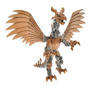 Giocattolo Dragons. Drago meccanico articolato Plastoy 1