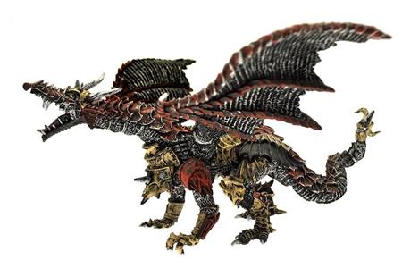 Giocattolo Dragons. Drago di metallo Plastoy 1