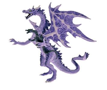 Giocattolo Dragons. Dragona con bebè Plastoy 1