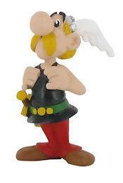 Giocattolo Asterix. Asterix che si tiene le bretelle Plastoy 1