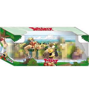 Giocattolo Asterix e il Papiro di Cesare. Box 5 Personaggi Plastoy 1