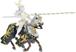 Giocattolo Cavalieri: Cavallo con Manto Draghi Plastoy 1