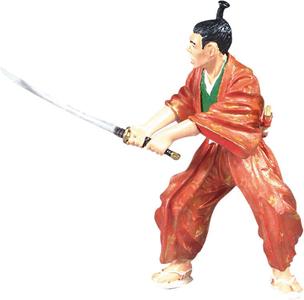 Giocattolo Samurai. Le Samourai Kimono Plastoy 1