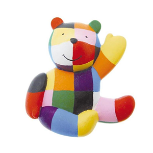 Giocattolo Elmer. Calamita orso Plastoy 1