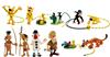 Giocattolo Tubo Marsupilami con 12 Personaggi Plastoy 2