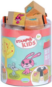Giocattolo Stampo Kids. Allegri Animaletti AladinE 2