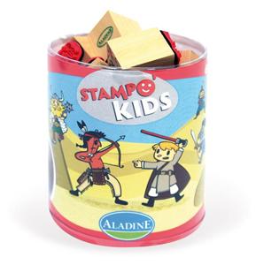 Giocattolo Stampo Kids. Guerrieri AladinE 2