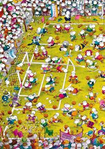 Giocattolo Puzzle Crazy Football, Mordillo Heye 1