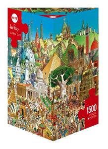 Giocattolo Cartoon Puzzle Prades Global City Heye 2