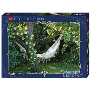 Giocattolo Puzzle 1000 pezzi My Segret garden. Hammock Heye 2