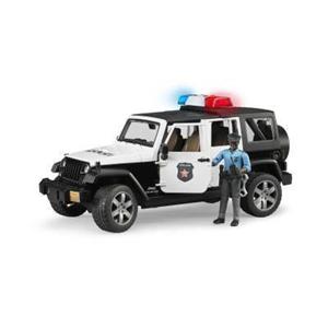 Giocattolo Jeep Wrangler Rubicon Polizia Bruder 1