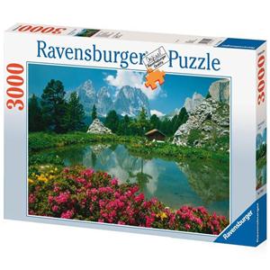 Giocattolo Puzzle 3000 pezzi Dolomiti Passo Sella Ravensburger 2