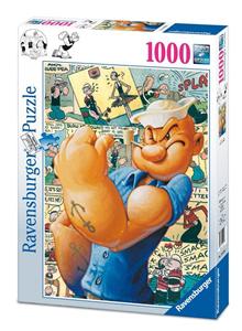 Giocattolo Puzzle 1000 pezzi Fantasy. Popeye a Fumetti Ravensburger 1