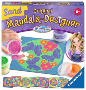 Giocattolo Mandala Designer. Sand. Butterflies Ravensburger 1