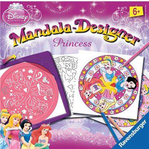 Giocattolo Mandala Principesse Disney Ravensburger 3