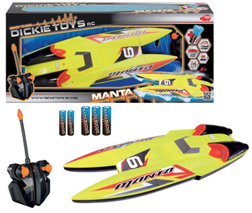 Giocattolo RC Motoscafo Manta Simba Toys 1