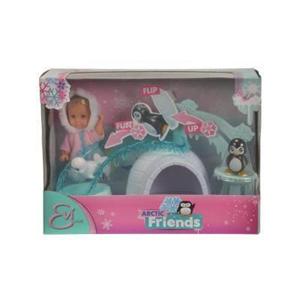 Giocattolo Evi Love. Evi con Igloo e Amici Polari Simba Toys 1