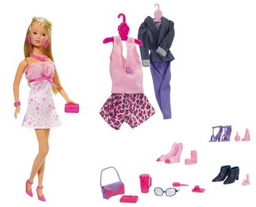 Giocattolo Steffi Love. Mega Fashion Abiti Ed Accessori 45 Pz Simba Toys 1