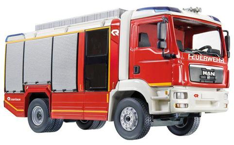 Giocattolo Die Cast camion Pompieri AT (7334) Siku 1
