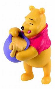 Giocattolo Disney Winnie the Pooh figures. Winnie con Miele Bullyland 1