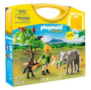 Giocattolo Playmobil Valigetta Wild Life (5628) Playmobil 2