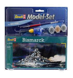 Giocattolo Nave Model Set Bismarck (RV65802) Revell 2
