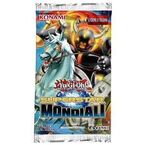 Giocattolo Yu-Gi-Oh! Busta 5 carte Superstar mondiali. Espansione - ITA Konami 2