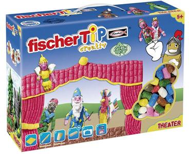Giocattolo Fischer Tip Theater Box 1000 pezzi Fischertechnik 1