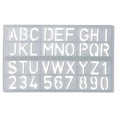 Cartoleria Normografo Mm. 30 Arial Rounded Cwr