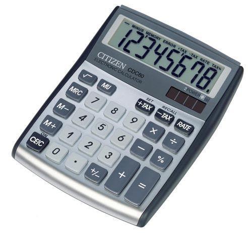 Image of Calcolatrice Citizen Allarounder display 8 cifre