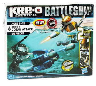 Giocattolo Battleship Scuba Sled Kre-o 2