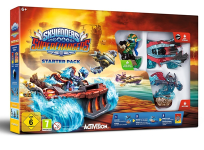 Giocattolo Skylanders SuperChargers Starter Pack Activision Blizzard 1