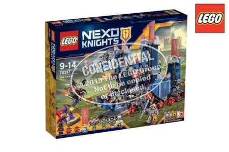 Giocattolo Lego Nexo Knights. Fortrex (70317) Lego 7