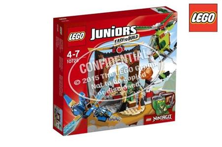 Giocattolo Lego Juniors. Il tempio perduto di Ninjago (10725) Lego 7