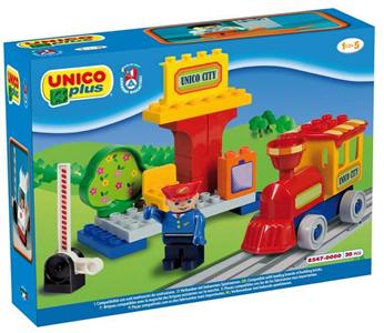 Giocattolo Unico Plus. Piccola Stazione Treno Androni 1