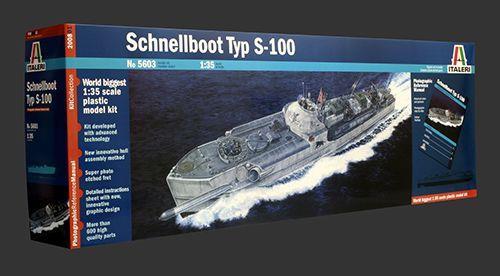 Giocattolo Nave Schnellboot S 100 (5603S) Italeri 1