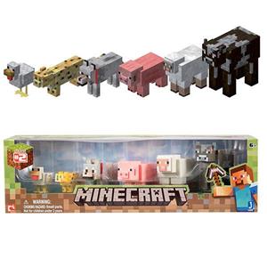 Giocattolo Figure Minecraft Animal Pack Giochi Preziosi 2
