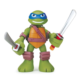 Giocattolo Turtles Mini Heroes, Personaggio Deluxe Leonardo con suoni Giochi Preziosi 2