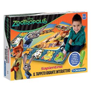 Giocattolo Zootropolis. Tappeto gigante interattivo Clementoni 4