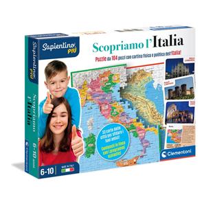 Giocattolo Scopriamo l'Italia Sapientino Clementoni 2