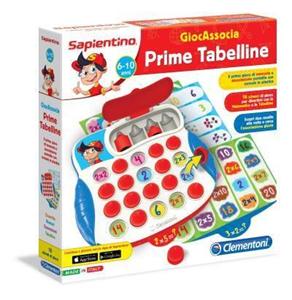 Giocattolo Sapientino GiocAssocia. Prime tabelline Clementoni 1