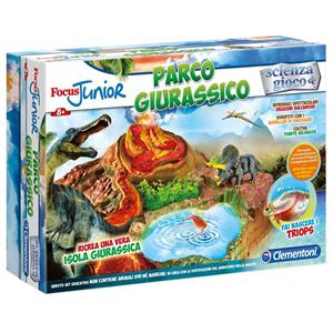 Giocattolo Focus Junior. Parco Giurassico Clementoni Clementoni 3