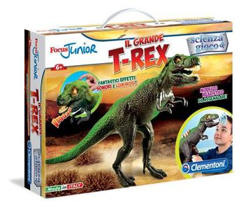 Giocattolo Focus Junior. Il Grande Triceratopo Clementoni 1