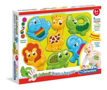 Giocattolo Animali Tocca e Impara Clementoni Clementoni 3