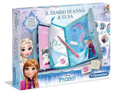 Giocattolo Frozen. Il Diario di Anna e Elsa Clementoni 1