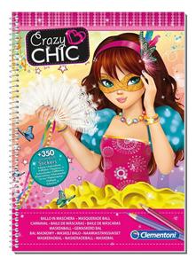 Giocattolo Crazy Chic Sketchbook Maschere Clementoni 1