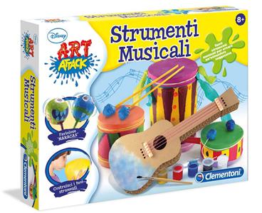 Giocattolo Art Attack Strumenti Musicali Clementoni Clementoni 2