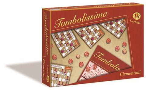 Giocattolo Tombolissima.  48 Cartelle Clementoni 1