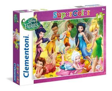 Giocattolo Disney Fairies. Puzzle 60 pezzi Clementoni 1